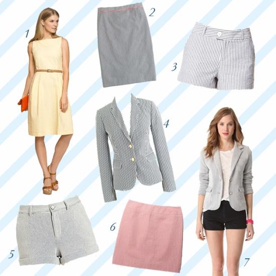 It's #seersucker season! asimplestatement.com #fashion #style #summer #clothes