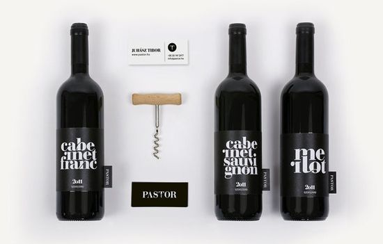 Pastor winery / 2013 by kissmiklos , via Behance