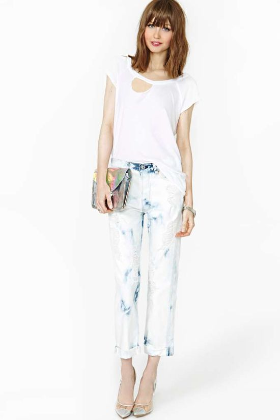 After Party Good Times Boyfriend Jeans