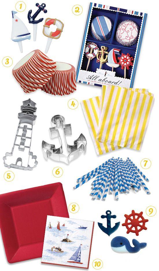 Nautical Party Theme Supplies