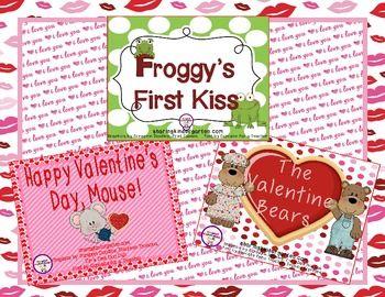 Valentine Reading Comprehension Games $