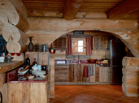 Rustic Wood Kitchen