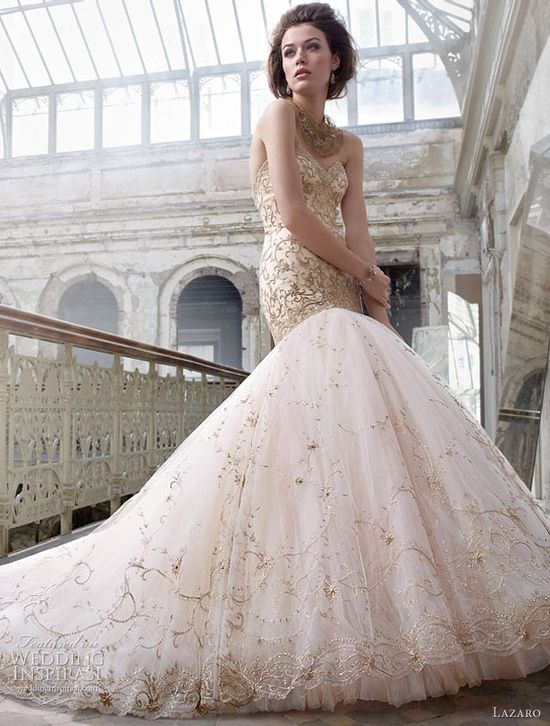 Lazaro Spring 2012 bridal collection