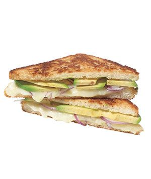 California Grilled cheese - Avocado and grilled cheese, oh yes!