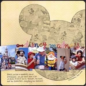 Disney' Scrapbooking Layouts - Bing Images