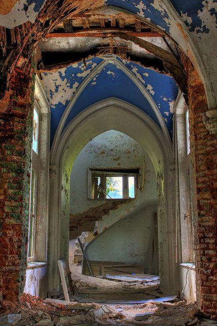 An abandoned church