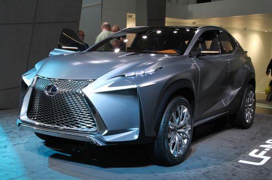 Lexus LF-NX, a concept