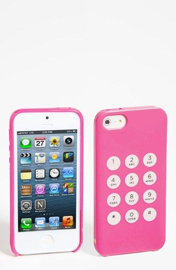 kate spade new york 'key pad' iPhone 5 case available at #Nordstrom