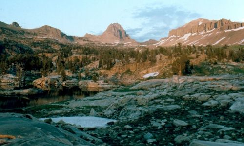 Teton Canyon Alaska Basin Trail Wyoming