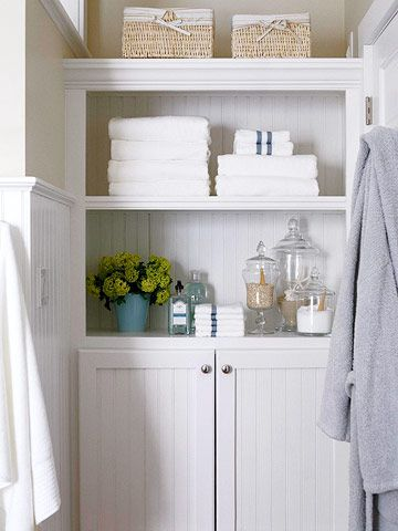 Great bathroom organization space #organization #bathroom
