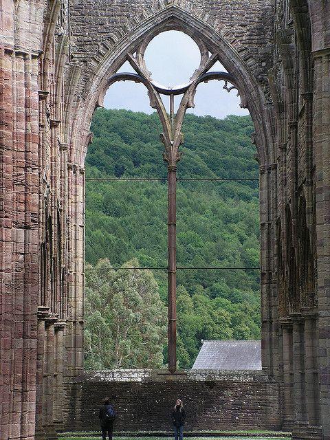 Great Window at Tintern Abbey. (rePinned 092013TLK)