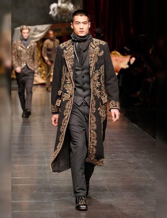 Dolce Gabbana Mens Fall Winter Fashion 2013