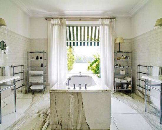 the most perfect bathroom {all marble everything}