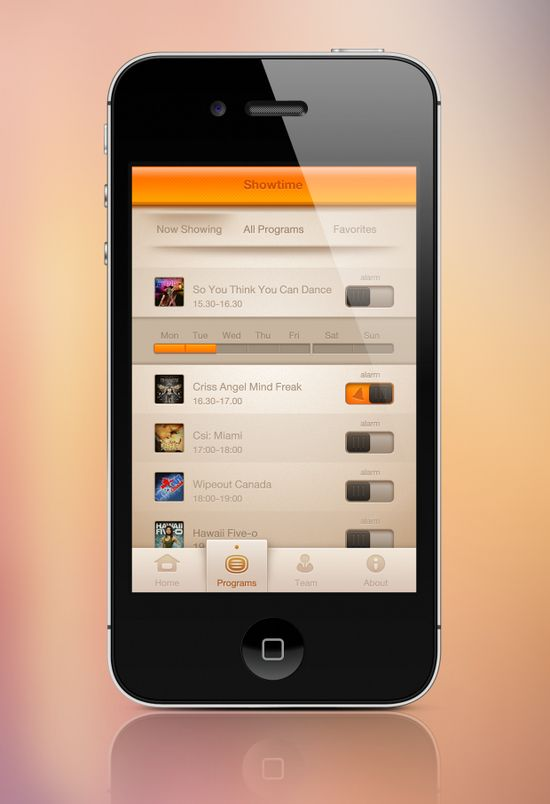 iOS User Interface