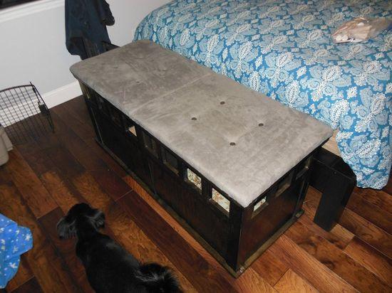 DIY Bedroom Bench/Storage/Dog Crate - Imgur