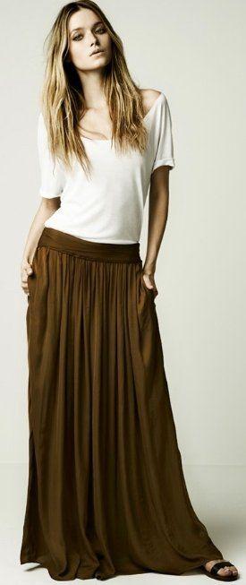 want a maxi skirt!