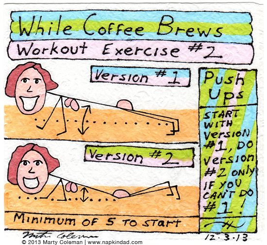The 'While Coffee Brews' Workout - Exercise #2