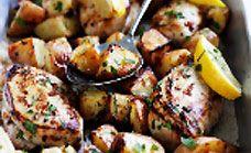 Lemon And Garlic Roast Chicken Recipe - Healthy