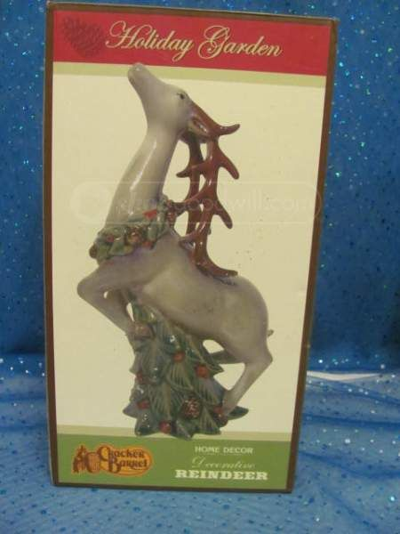 shopgoodwill.com: Holiday Garden Decorative Reindeer