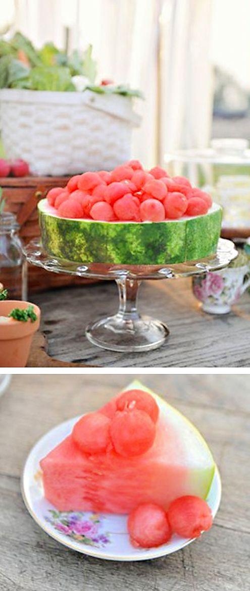 Nice way to serve watermelon