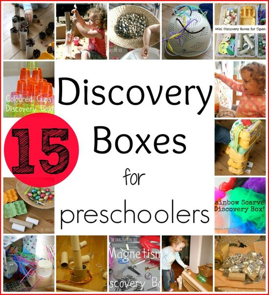 15 discovery boxes for toddlers and preschoolers