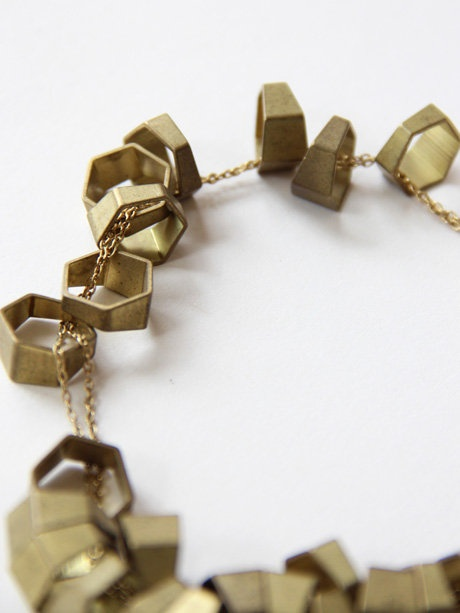 laura-lombardi-hexagon-cluster-necklace