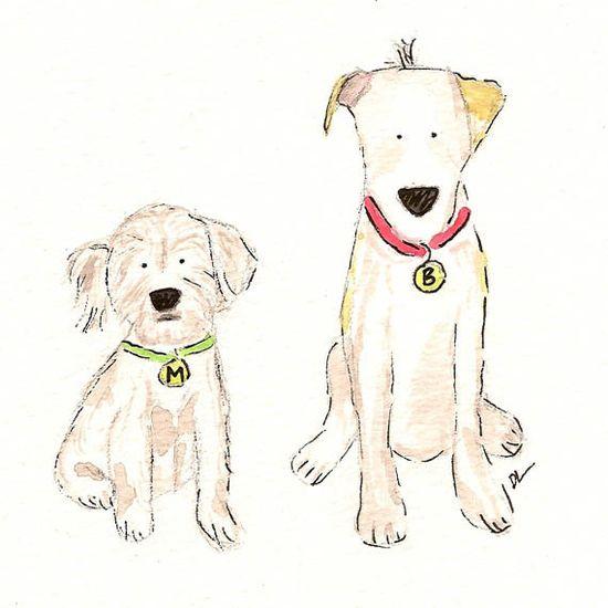 $40 custom pet portrait - Kid art project: create a portrait of your family pet.  Medium choice is yours.