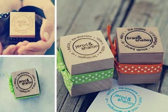 Gifts for your beloved personalized return address stamps would be a great gift idea for - Return gifts for housewarming party ...