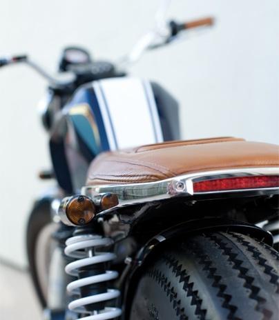 EB001 Ellaspede Australian Custom Motorcycles