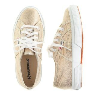 Girls' Superga® lamé sneakers - sneakers - Girl's shoes - J.Crew