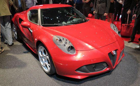 Alfa Romeo 4C Celebrates Debut with Launch Edition. For more, click www.autoguide.com...