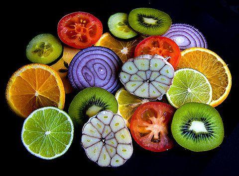 Beautiful fruit and veggies patterns