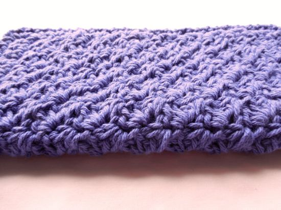 Dish/Wash Cloth   Crochet  Purple by ShelleysCrochetOle on Etsy, $4.00