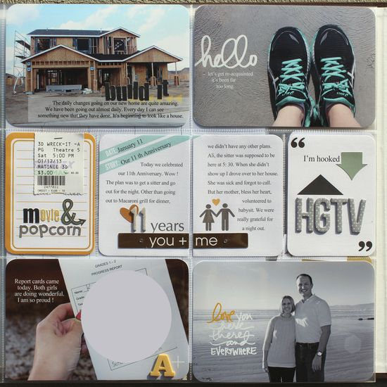 HGTV #scrapbook #home #house #remodel #layout #project #life