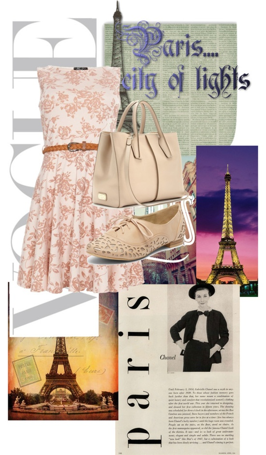 """Paris"" by cayla-monzon ❤ liked on Polyvore"