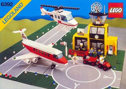 LEGO Town Airport - 1985. #LEGO #toys #vintage #80s #1980s