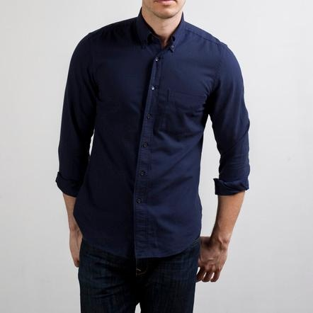 The Slim Fit Oxford Midnight  / Everlane