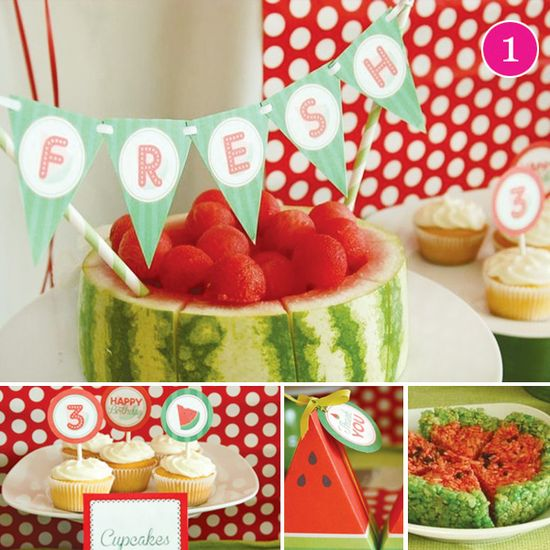 Summer Watermelon Party