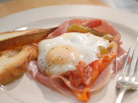 Basque Eggs My Way from CookingChannelTV.com