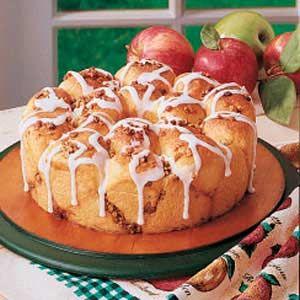 Apple Pull-Apart Bread Recipe