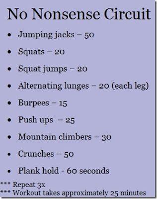 good living room workout