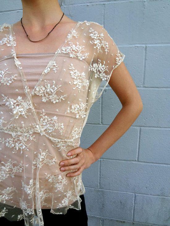 Gorgeous Vintage Lace!~