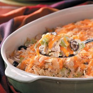 Crowd Chicken Casserole Recipe