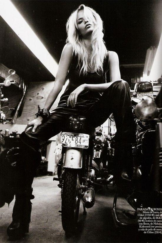 Motorbike chick