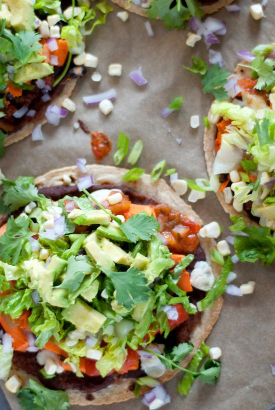 Healthy Mexican Tostadas