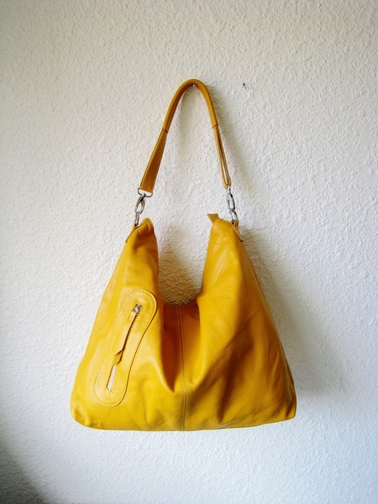 I am apparently addicted to yellow. #purse #yellow #etsy