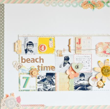 love the little squares (#scrapbooking)