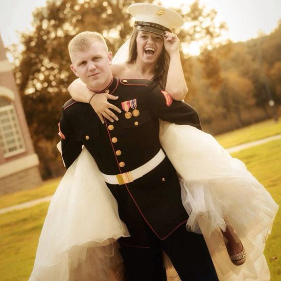 Military wedding photo!!