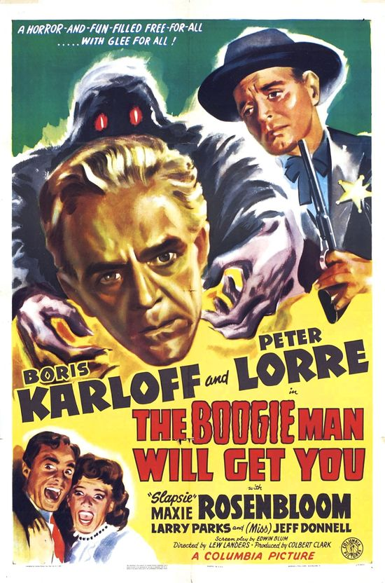 The Boogie Man Will Get You (1942, USA) With Boris Karloff and Peter Lorre