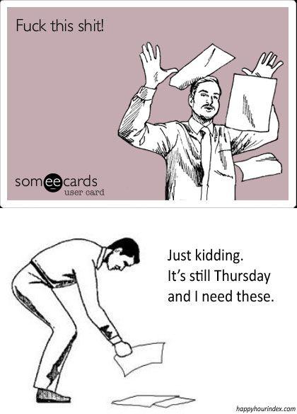 Oh Thursdays....